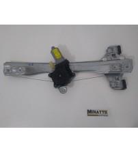 Maquina E Motor Vidro Eletrico Tras/esq Cruze 2012 #2