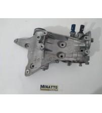 Suporte Compressor/alternador Vw Jetta Tsi 2012 #4