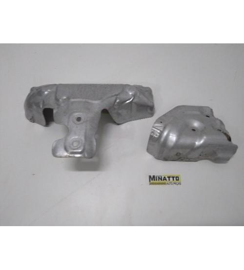 Alumínio Proteção Coletor Escape Jaguar Xf 2013