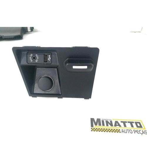 Acabamento 12v E Usb Bmw X5 Xdrive50i 2013
