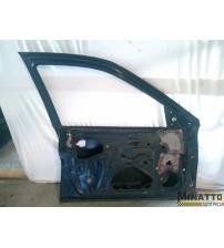 Porta Dian/esq Gm Vectra 98/04 Preta E Prata