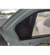 Vidro Fixo Da Porta Tras/esq Renault Logan  2017