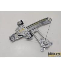 Maquina De Vidro Manual Tras/dir Gm Cobalt 2012