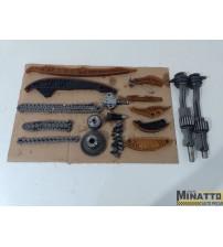 Kit Corrente Comando E Engrenagens Vw Jetta 2.0 Tsi 2016