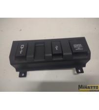 Acabamento Usb Console Central Honda Hrv Exl 2020